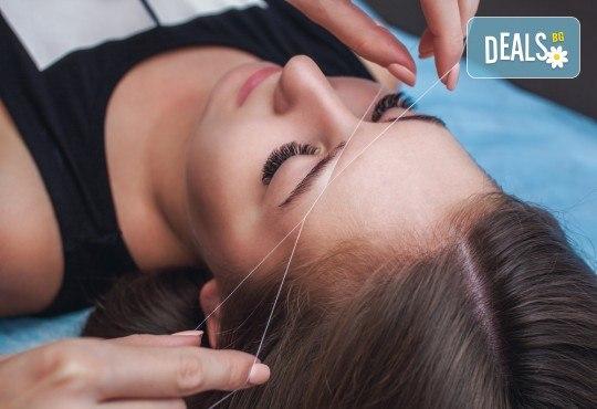 Курс за оформяне на вежди с къна и конец Hena Brows в NSB Beauty Center! - Снимка 2