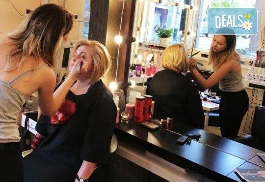 Професионален грим за сватби, официални събития и специални поводи с козметика на MAC, NYX, Inglot и др. от гримьор Елица Толева в Benefit Hair Studio by Tatiana! - Снимка 13