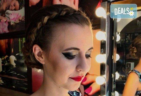 Професионален грим за сватби, официални събития и специални поводи с козметика на MAC, NYX, Inglot и др. от гримьор Елица Толева в Benefit Hair Studio by Tatiana! - Снимка 11