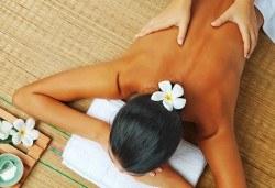 80-минутна СПА терапия! Кралски масаж на цяло тяло, парафинова маска на ръце, масаж на глава и лице в Масажно студио Адонай Елохай! - Снимка