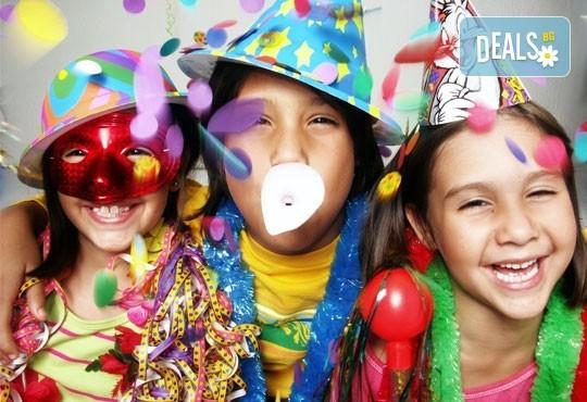 DJ - aниматор и озвучаване за детски Рожден или Имен ден, за 120 мин., на избрано от Вас място! Пакети с озвучавне, диско ефекти, сапунени балони - Снимка 1