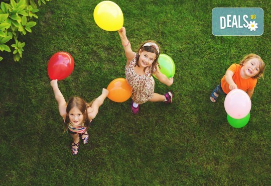 DJ - aниматор и озвучаване за детски Рожден или Имен ден, за 120 мин., на избрано от Вас място! Пакети с озвучавне, диско ефекти, сапунени балони - Снимка 2