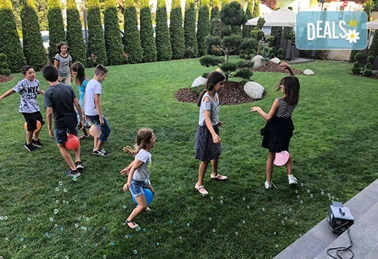 DJ - aниматор и озвучаване за детски Рожден или Имен ден, за 120 мин., на избрано от Вас място! Пакети с озвучавне, диско ефекти, сапунени балони - Снимка 5
