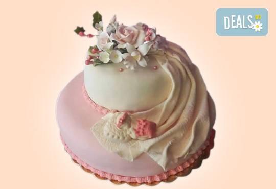 Смърфове, Миньони и Мечо Пух! Голяма детска 3D торта 37 ПАРЧЕТА с фигурална ръчно изработена декорация от Сладкарница Джорджо Джани - Снимка 24