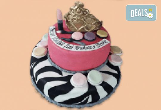 Смърфове, Миньони и Мечо Пух! Голяма детска 3D торта 37 ПАРЧЕТА с фигурална ръчно изработена декорация от Сладкарница Джорджо Джани - Снимка 14