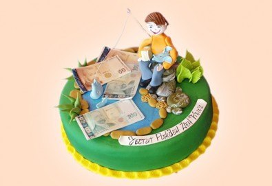 Бъди професионалист! Торта за професионалисти: вкусна торта за фризьори, IT специалисти, съдии, футболисти, режисьори, музиканти и други професии от Сладкарница Джорджо Джани - Снимка