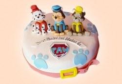MAX цветове! Детски торти MAX цветове с 2, 3 или 4 фигурки, фотодекорация и апликация по дизайн на Сладкарница Джорджо Джани! - Снимка