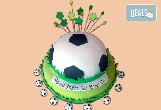 3D торта за футбулни фенове и фенове на спорта от Сладкарница Джорджо Джани