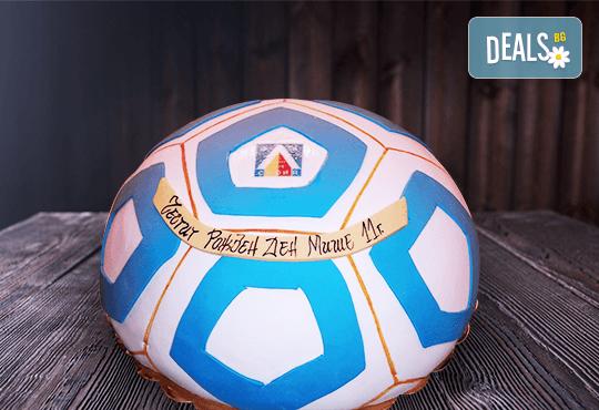За спорта! Торти за футболни фенове, геймъри и почитатели на спорта от Сладкарница Джорджо Джани! - Снимка 41