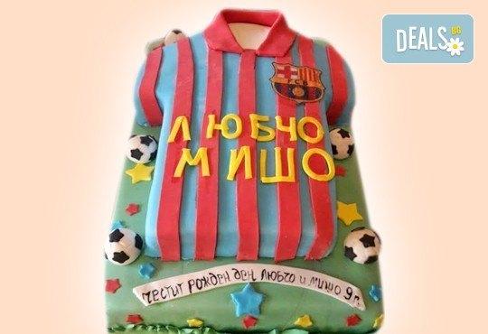 За спорта! Торти за футболни фенове, геймъри и почитатели на спорта от Сладкарница Джорджо Джани! - Снимка 31
