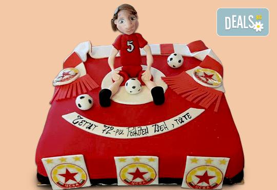 За спорта! Торти за футболни фенове, геймъри и почитатели на спорта от Сладкарница Джорджо Джани! - Снимка 21