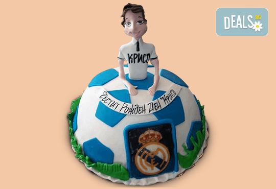 За спорта! Торти за футболни фенове, геймъри и почитатели на спорта от Сладкарница Джорджо Джани! - Снимка 26