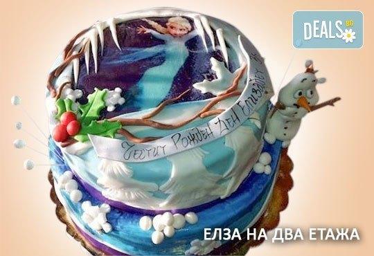 С доставка през април, май и юни! Торти за момичета с 3D дизайн с еднорог или друг приказен герой от сладкарница Джорджо Джани - Снимка 30