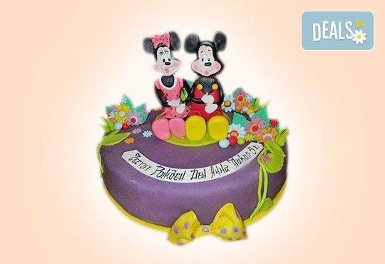 С доставка през април, май и юни! Торти за момичета с 3D дизайн с еднорог или друг приказен герой от сладкарница Джорджо Джани - Снимка 43