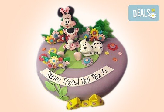 С доставка през април, май и юни! Торти за момичета с 3D дизайн с еднорог или друг приказен герой от сладкарница Джорджо Джани - Снимка 42