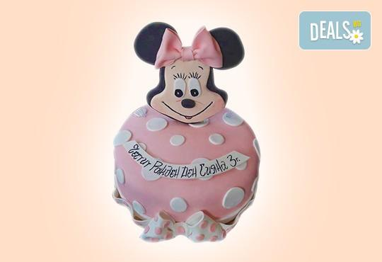 С доставка през април, май и юни! Торти за момичета с 3D дизайн с еднорог или друг приказен герой от сладкарница Джорджо Джани - Снимка 45