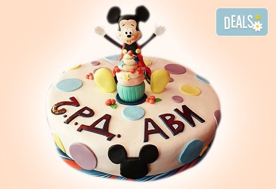 С доставка през април, май и юни! Торти за момичета с 3D дизайн с еднорог или друг приказен герой от сладкарница Джорджо Джани - Снимка 41