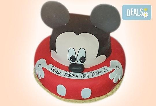 С доставка през април, май и юни! Торти за момичета с 3D дизайн с еднорог или друг приказен герой от сладкарница Джорджо Джани - Снимка 47