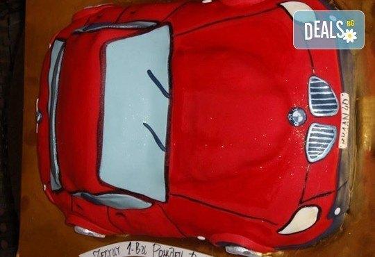 25 парчета! Голяма детска 3D торта с фигурална ръчно изработена декорация от Сладкарница Джорджо Джани - Снимка 23