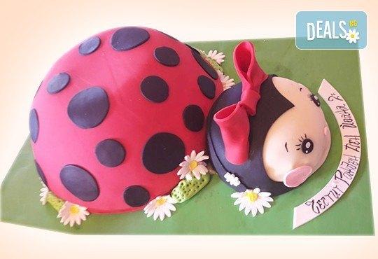 25 парчета! Голяма детска 3D торта с фигурална ръчно изработена декорация от Сладкарница Джорджо Джани - Снимка 30