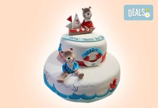 С доставка през април, май и юни! За момчета: детска 3D торта за момчета с коли и герои от филмчета с ръчно моделирана декорация от Сладкарница Джорджо Джани - Снимка 47