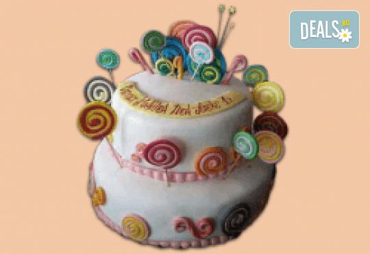 С доставка през април, май и юни! ПАРТИ торта с фигурална 3D декорация за деца и възрастни от Сладкарница Джорджо Джани - Снимка 6