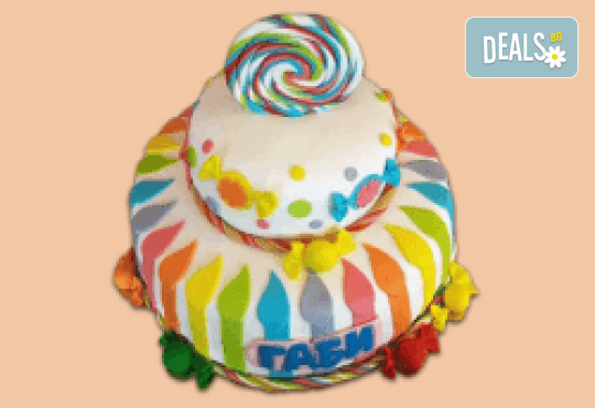 ПАРТИ торта с фигурална 3D декорация за деца и възрастни от Сладкарница Джорджо Джани - Снимка 3