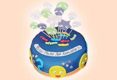 С доставка през март и април! ПАРТИ торта с фигурална 3D декорация за деца и възрастни от Сладкарница Джорджо Джани - Снимка