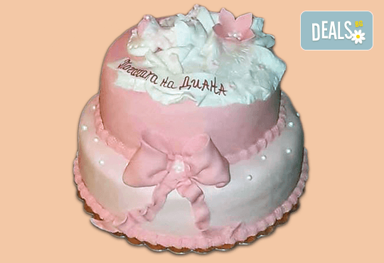 С доставка през април, май и юни! Честито бебе: торта за изписване от родилния дом, за 1-ви рожден ден или за прощъпулник, специална оферта на Сладкарница Джорджо Джани - Снимка 25