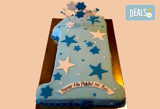 С доставка през април, май и юни! Честито бебе: торта за изписване от родилния дом, за 1-ви рожден ден или за прощъпулник, специална оферта на Сладкарница Джорджо Джани - Снимка 32