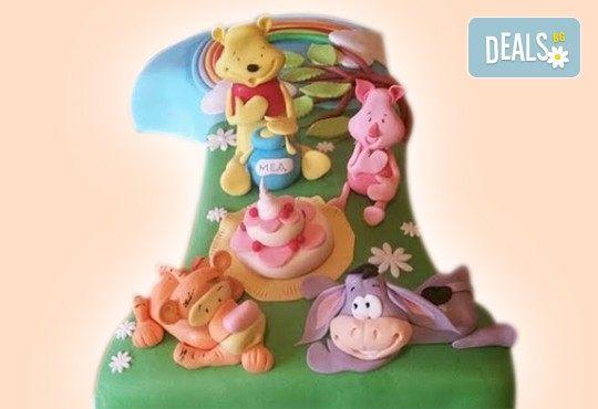 С доставка през април, май и юни! Честито бебе: торта за изписване от родилния дом, за 1-ви рожден ден или за прощъпулник, специална оферта на Сладкарница Джорджо Джани - Снимка 36