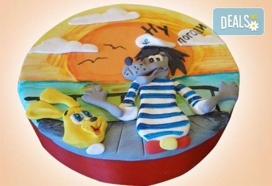 За най-малките! Детска торта с Мечо Пух, Смърфовете, Спондж Боб и други герои от Сладкарница Джорджо Джани - Снимка 61