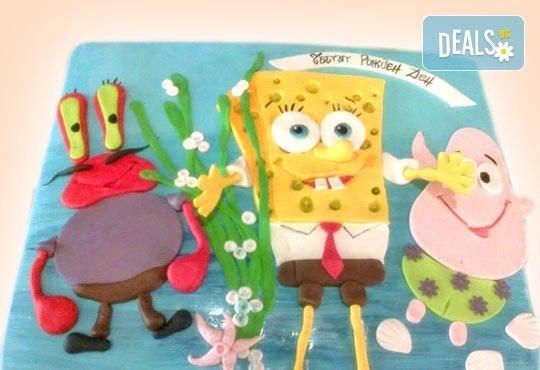 За най-малките! Детска торта с Мечо Пух, Смърфовете, Спондж Боб и други герои от Сладкарница Джорджо Джани - Снимка 46