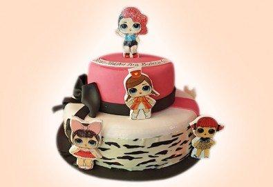 С доставка през март и април! За най-малките: детска торта с Мечо Пух, Смърфовете, Спондж Боб и други герои от Сладкарница Джорджо Джани - Снимка