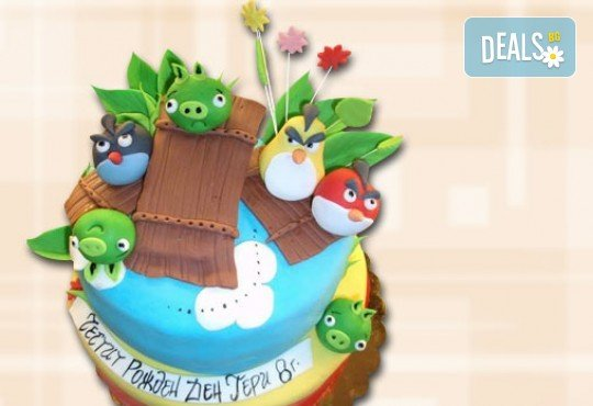 За най-малките! Детска торта с Мечо Пух, Смърфовете, Спондж Боб и други герои от Сладкарница Джорджо Джани - Снимка 62