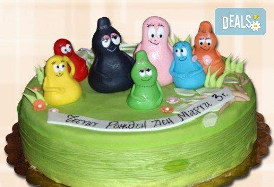 За най-малките! Детска торта с Мечо Пух, Смърфовете, Спондж Боб и други герои от Сладкарница Джорджо Джани - Снимка 63