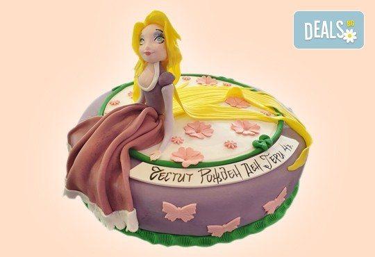 За момичета! Красиви 3D торти за момичета с принцеси и приказни феи + ръчно моделирана декорация от Сладкарница Джорджо Джани - Снимка 1