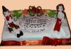 Голяма 3D Торта на традициите за почитателите на българския фолклор, 25 парчета от Сладкарница Джорджо Джани! - thumb 2