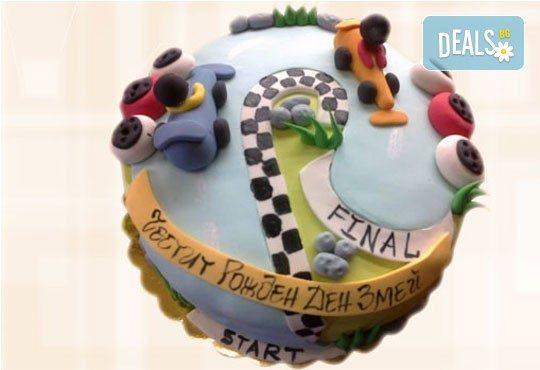 Торта за мъже с индивидуален дизайн и размери по избор от Сладкарница Джорджо Джани! - Снимка 47