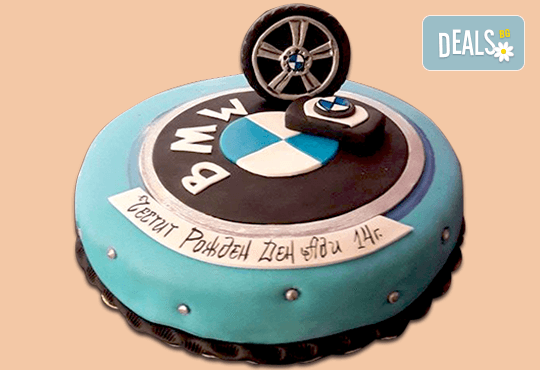 Торта за мъже с индивидуален дизайн и размери по избор от Сладкарница Джорджо Джани! - Снимка 11