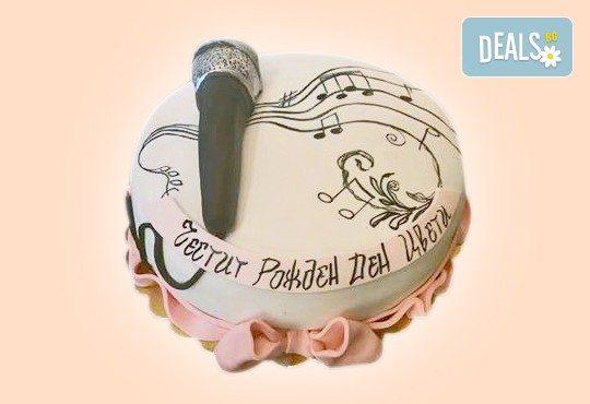 За музиканти! Торта за DJ, музиканти, певци, художници и артисти от Сладкарница Джорджо Джани! - Снимка 1