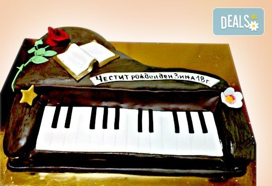 За музиканти! Торта за DJ, музиканти, певци, художници и артисти от Сладкарница Джорджо Джани! - Снимка 7