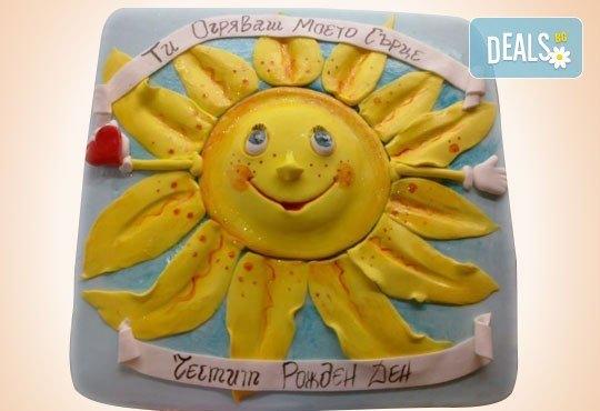 С доставка през април, май и юни! Детска АРТ торта с фигурална ръчно изработена декорация с любими на децата герои от Сладкарница Джорджо Джани - Снимка 79