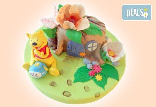 С доставка през април, май и юни! Детска АРТ торта с фигурална ръчно изработена декорация с любими на децата герои от Сладкарница Джорджо Джани - Снимка 86