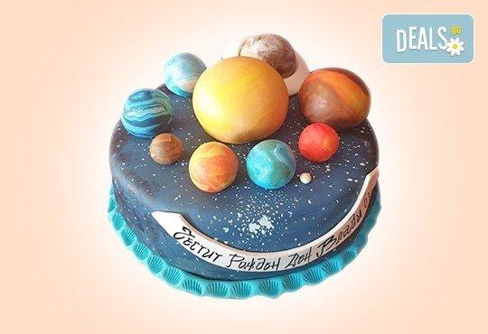 С доставка през април, май и юни! Детска АРТ торта с фигурална ръчно изработена декорация с любими на децата герои от Сладкарница Джорджо Джани - Снимка 80