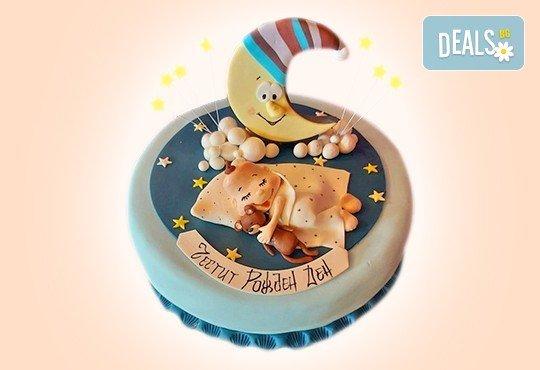 С доставка през април, май и юни! Детска АРТ торта с фигурална ръчно изработена декорация с любими на децата герои от Сладкарница Джорджо Джани - Снимка 78