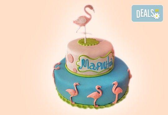 С доставка през април, май и юни! Детска АРТ торта с фигурална ръчно изработена декорация с любими на децата герои от Сладкарница Джорджо Джани - Снимка 66