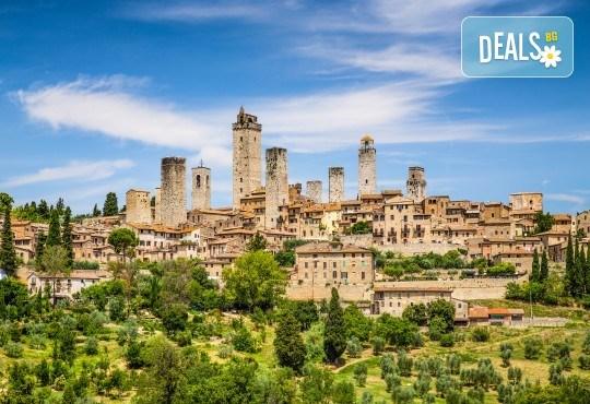 Великден, Майски или Септемврийски празници под небето на Тоскана! 4 нощувки и закуски, транспорт, посещение на Флоренция, Пиза, Болоня, Сиена и Загреб! - Снимка 1