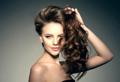 Масажно измиване и маска според типа коса, дамско подстригване и изсушаване в N&G Vision Beauty Studio! - Снимка