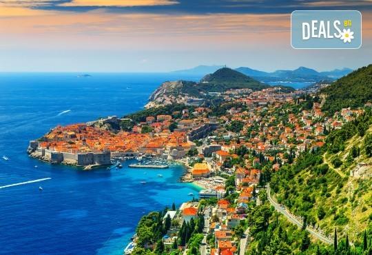 Великден, май/септември в Будва, Дубровник, Плитвички езера: 4 нощувки, закуски, транспорт